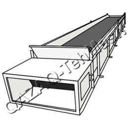 Конвейер цепной скребковый
