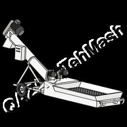 Шнек для разгрузки хопров (вагонов)