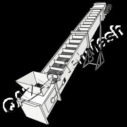 Ленточно скребковый конвейер